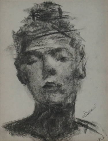 Lady In Charcoal